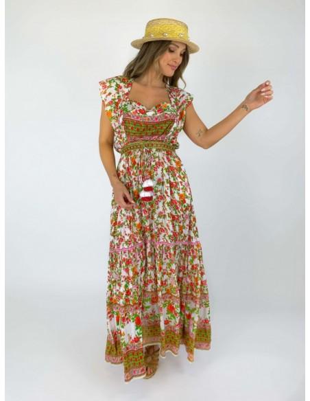 vestido largo boho chic bohemio comprar online