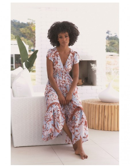 vestido largo boho chic Neapolitan Carmen Jaase