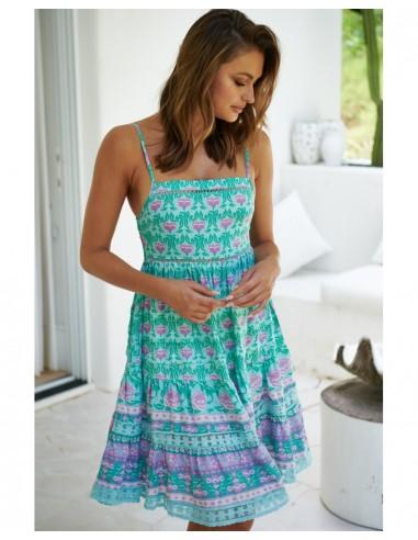 vestido corto tirantes Boreal Rena Jaase