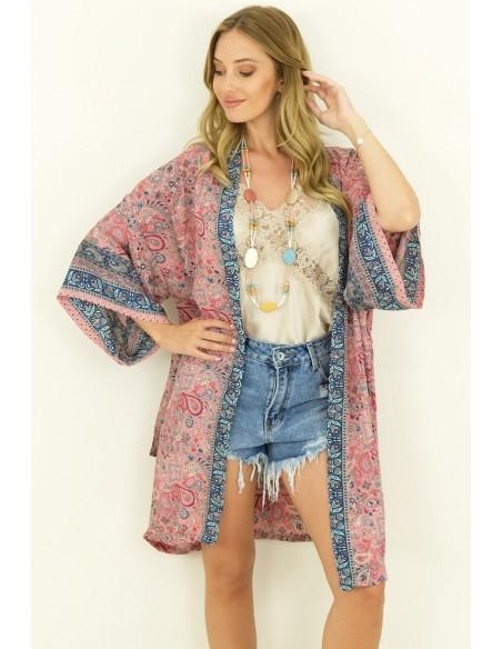Kimono boho hippie chic Ibiza