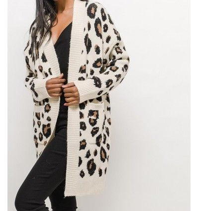 CARDIGAN LEOPARDO
